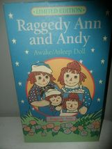 LIMITED EDITION Raggedy Andy Awake/Asleep Doll by Applause image 4