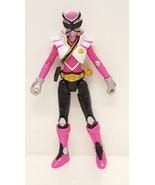 Power Rangers Shinken Pink Action Figure TV Animated Series Toy Ninja Ba... - $19.55