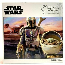 Star Wars Puzzle Baby Yoda The Mandalorian 500 Piece Bounty in Pod The C... - $31.88