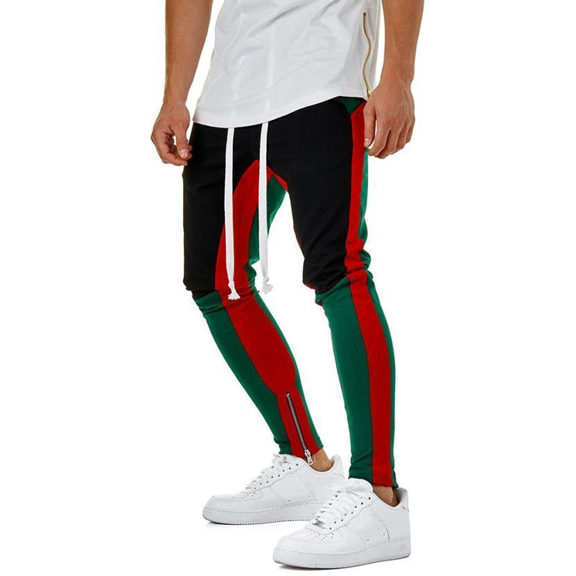 men clothes 2018 summer top Fashion Men's Fitness Pant Casual Loose Sweatpants D - $77.25 - $81.70