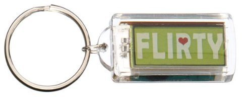 Kool Keyrings by Ganz - Flirty * New Keychain Novelty
