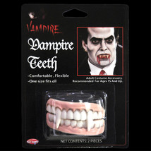 Undead Monster Horror Teeth-VAMPIRE FANGS DENTURE-Cosplay Costume Prop A... - $3.93