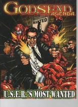 Godsend Agenda - U.S.E.R.'s Most Wanted - d6 System - Khepera Publishing... - $27.43