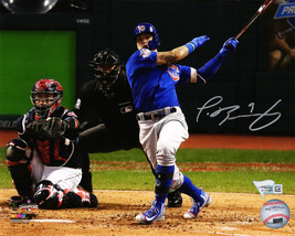Javier Baez Signed Chicago Cubs 2016 World Series Game 7 HR 8x10 Photo - $190.00