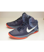 Nike Air Visi Pro Size 13 Blue Basketball Shoes Men's - $46.00