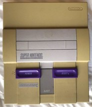 ☆ Super Nintendo Entertainment System Console ONLY AS IS Parts REPAIRS R... - $35.00