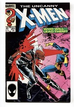 X-MEN #201-1981-MARVEL-First Baby Cabl NM- - $21.83