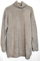 Missguided Women's Grey Oversized Fleece Sweater Dress US 4 | UK 8 | EUR 36