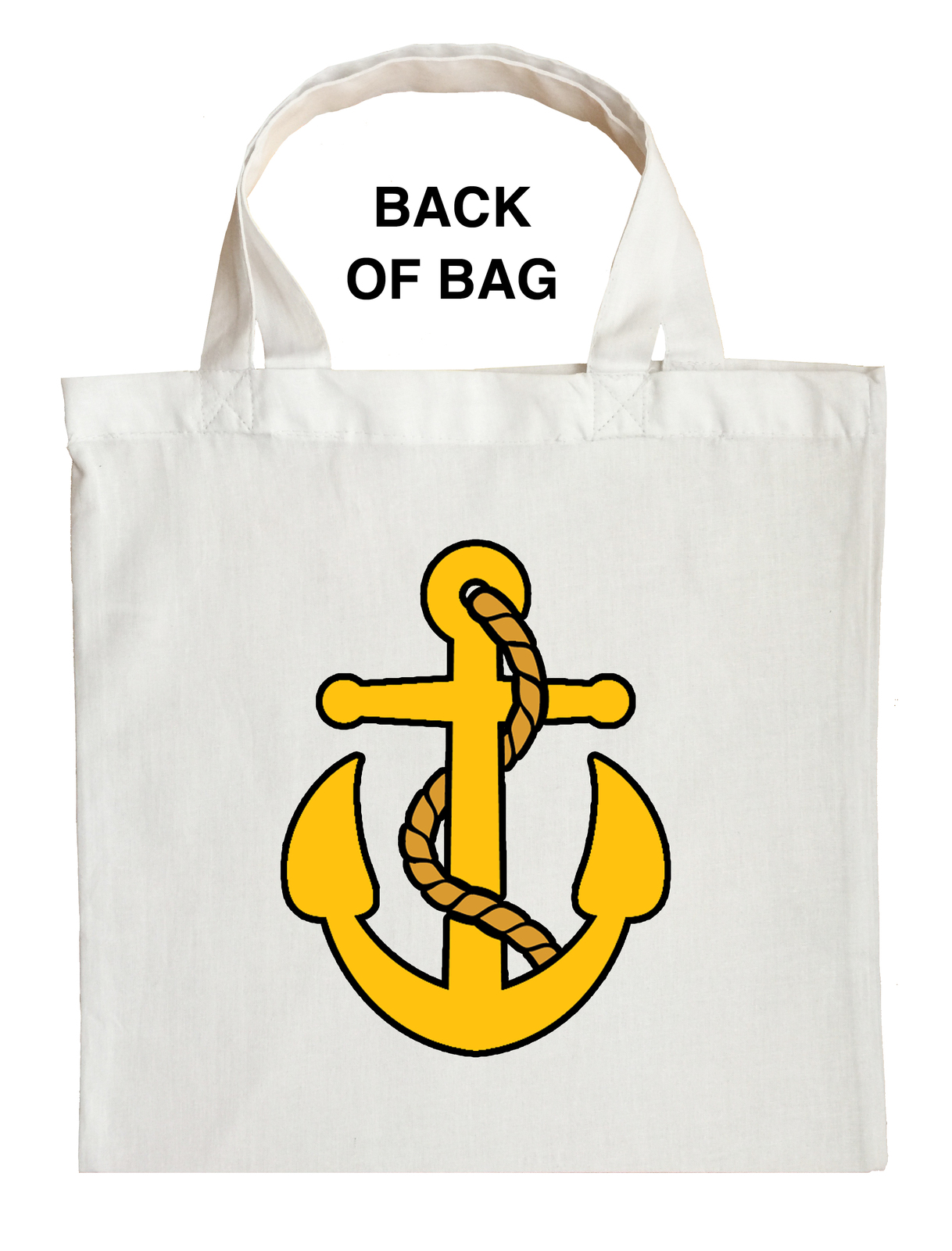 Fishing Captain Trick or Treat Bag, Navy Captain Trick or Treat Bag
