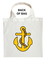 Fishing Captain Trick or Treat Bag, Navy Captain Trick or Treat Bag image 2