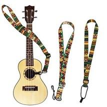 2 Pack Ukulele Strap Adjustable Neck Strap - Hawaiian Style Shoulder Str... - $11.83