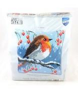 Vervaco Red Robin In Winter Cross Stitch Kit DIY Craft Kit NEW - £28.79 GBP