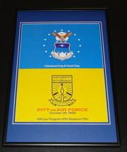 1968 Air Force vs Pitt Football Framed 10x14 Poster Official Repro - $46.39