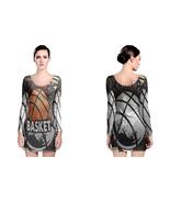 American Basket Ball  Womens Sexy Long Sleeve Bodycon Dress - $23.99+