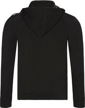 Hugo Boss Men's Sweater Zip Up Hoodie Sweatshirt Track Jacket Black image 2