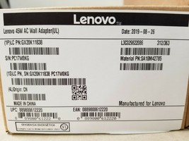 Lenovo 45W Laptop AC Power Charger - (GX20K11838) - $20.89