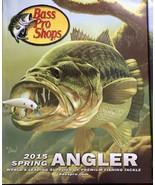 Bass Pro Shops Spring Angler Catalogs 2013 2015 Johnny Morris Fishing Pr... - $25.69