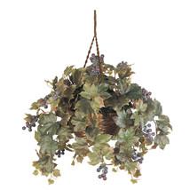 Grape Leaf Hanging Basket Silk Plant - $46.25