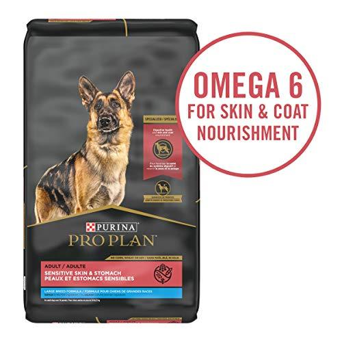 Primary image for Purina Pro Plan with Probiotics, Sensitive Stomach Large Breed Dry Dog Food, Spe