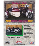 Champs American Vintage Cycles Prototype Dealer Promo Card #179 Skybox 1... - $2.99