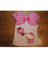 Girls Hello Kitty Sanrio HK53413 white pink shirt 4 NWT^^ - $6.12