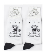"NWT 2 Pair of Children Socks by Enesco ""Special Friend"" Black & White M ... - $19.99"