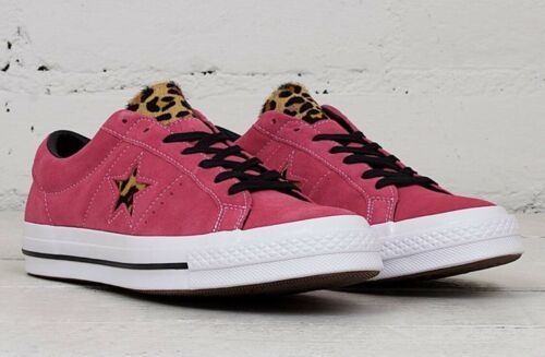 Converse Chuck Taylor One Star Ox Active Fuchsia Pink 163243C Men Size 12 NEW!