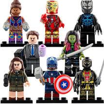 8pcs Avengers Endgame - T'Challa Shuri Iron Man Howard Stark Gamora Minifigures - $14.98