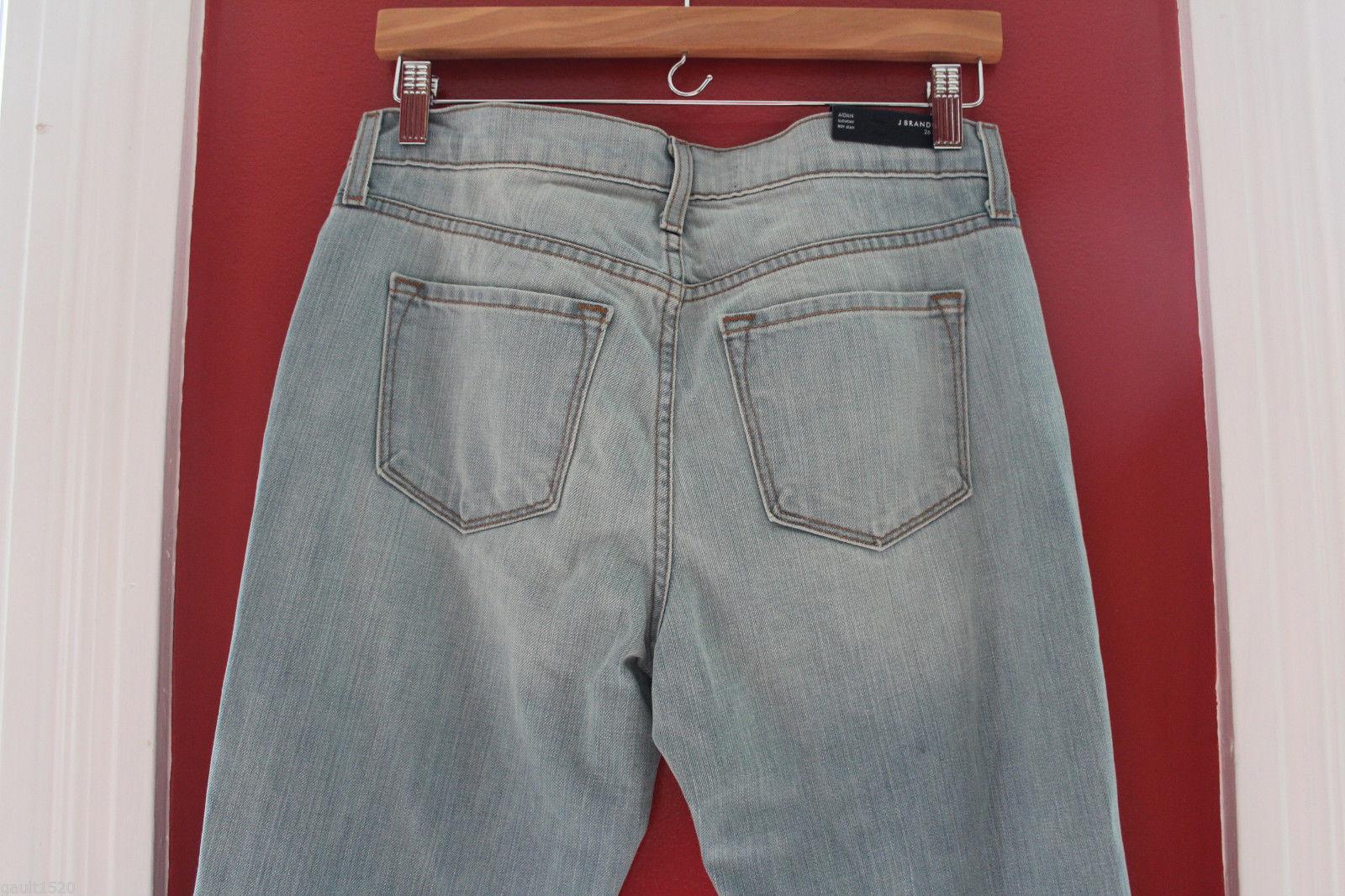 NWT J BRAND Designer Women's Aidan Slouchy Boy Jeans Denim Pants 26 2 $359 image 8