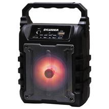 SYLVANIA SP389-B 5-Watt Rechargeable Disco-LED Light-up Bluetooth Speake... - $39.14