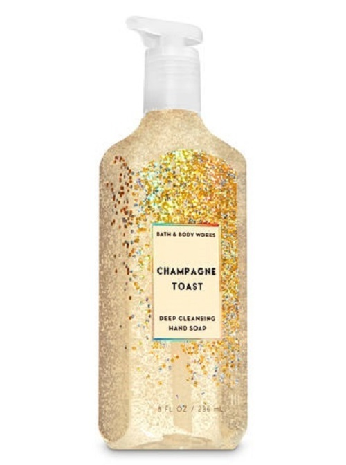 5 Bath & Body Works Deep Cleansing Hand Soap- Champagne Black Tie Rose Cocktail