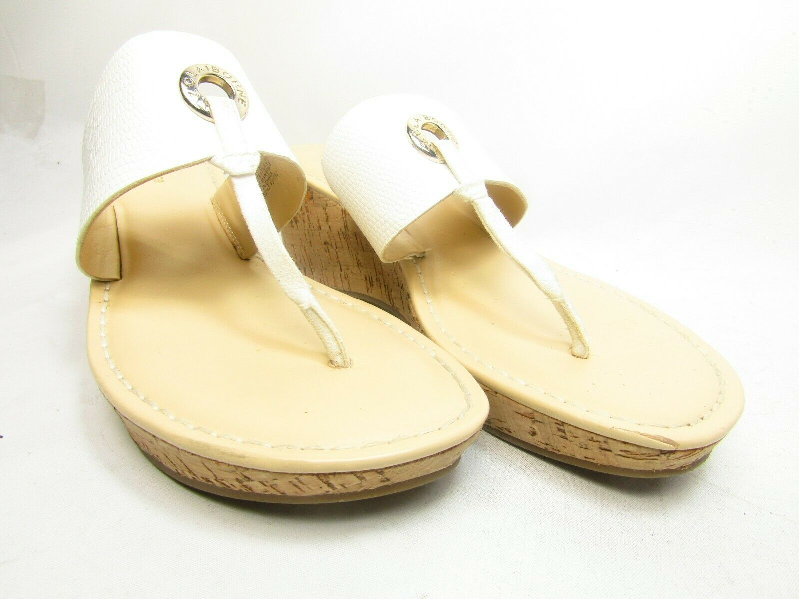 Liz Claiborne Lively Womens Sandals  8M White Size 8M