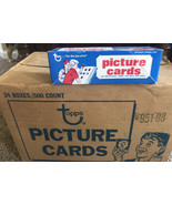 NEW 1988 Topps Baseball Picture Cards 500 Count Vending Box - Never Opened - $25.99
