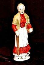 Woman Figurine AA18-1192  Vintage Tall Old image 4