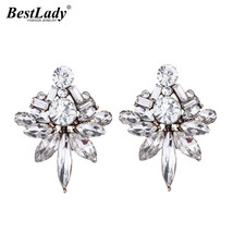 Lady Fashion Jewelry Brand Stud Earrings Women Vintage Bijoux Statement - $7.99