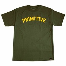 Primitive Slab 08 T-Shirt Hunter Green - $27.64
