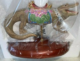 Lenox----Carousel Alligator---Limited Edition--- in Box with COA - $57.00