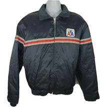 American Airlines Golden Fleece Blue Vintage Jacket Size XL With Liner - $67.31