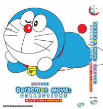 DORAEMON MOVIE COLLECTION 39 IN 1 + 2 SPECIAL DVD ENGLISH SUBS SHIP FROM USA