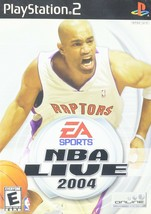 NBA Live 2004 - Playstation 2 Game Complete - $9.99