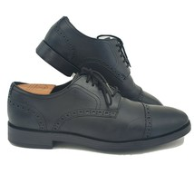 Cole Haan Grand OS Black Leather Cap Toe Men's Oxford Shoes Size 7.5 - $45.13