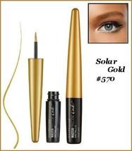 Lot Of 2 Maybelline Master Precise Ink Metallic Liquid Eyeliner SOLAR GO... - $9.95