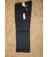 Dickies Boys Navy School Uniform 18H Classic Fit Flat Front 32 x 28 - $14.80