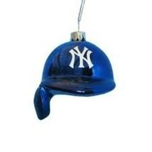 KURT S. ADLER MLB™ GLASS NEW YORK YANKEES BATTING HELMET CHRISTMAS ORNAMENT - $11.88
