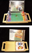 Funny Football Game Tomy White Knob Windup Walkers - $22.99
