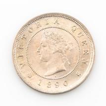 1890 H Jamaica 1 Farthing Queen Victoria Coin Unc. - $99.00