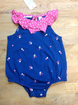 First Impressions Baby Girls Romper, Multi-Color, Size 0-3M - $8.90