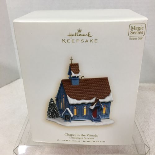Primary image for 2007 Candlelight Services #10 Hallmark Christmas Tree Ornament MIB Price Tag H2