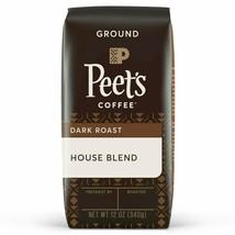 Peet's Coffee House Blend Dark Roast Ground 12OZ - $13.87