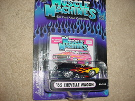 Muscle Machines 65 Chevelle 02-100 Flamed Free Usa Shipping - $11.29